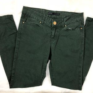 Zara Jeans - Zara Basic Jeans Denim Skinny Leg Green Size 4